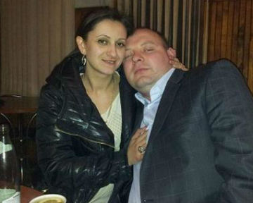 Евгений Дрыжак с подругой