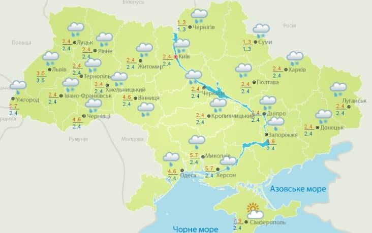 Погода 27 февраля