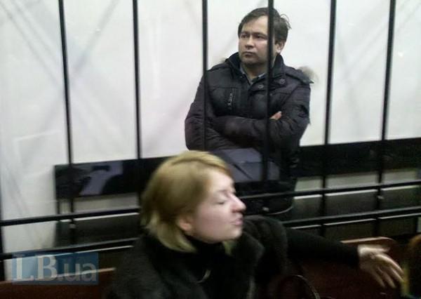 Андрей Дзиндзя в суде