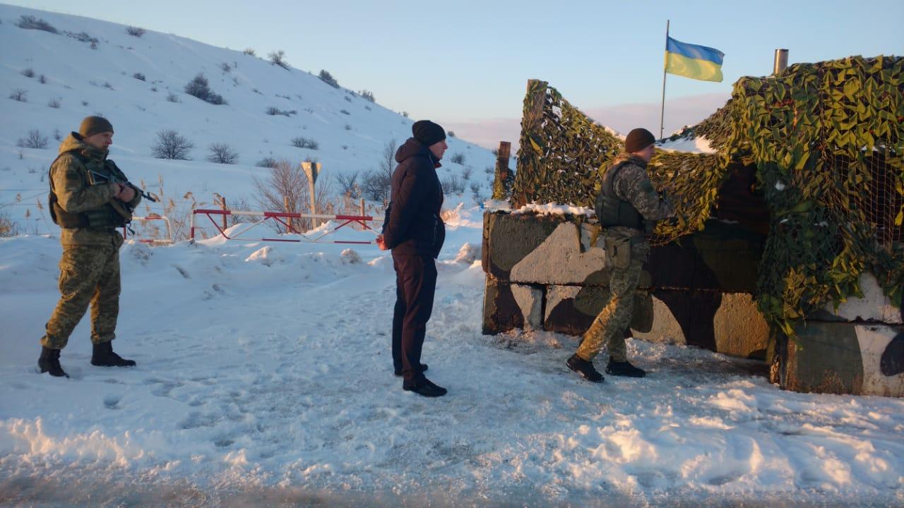 На границу с РФ направили дополнительную технику и людей