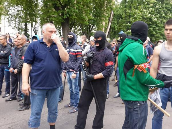 Сторонники России  Одессе
