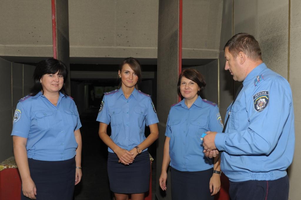 Лучший результат показали капитан Алина Ольховская, капитан Оксана Усатюк и подполковник Наталья Сторожик