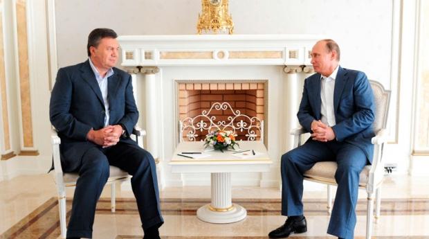 Янукович и Путин не говорили о ТС - заверил Кремль