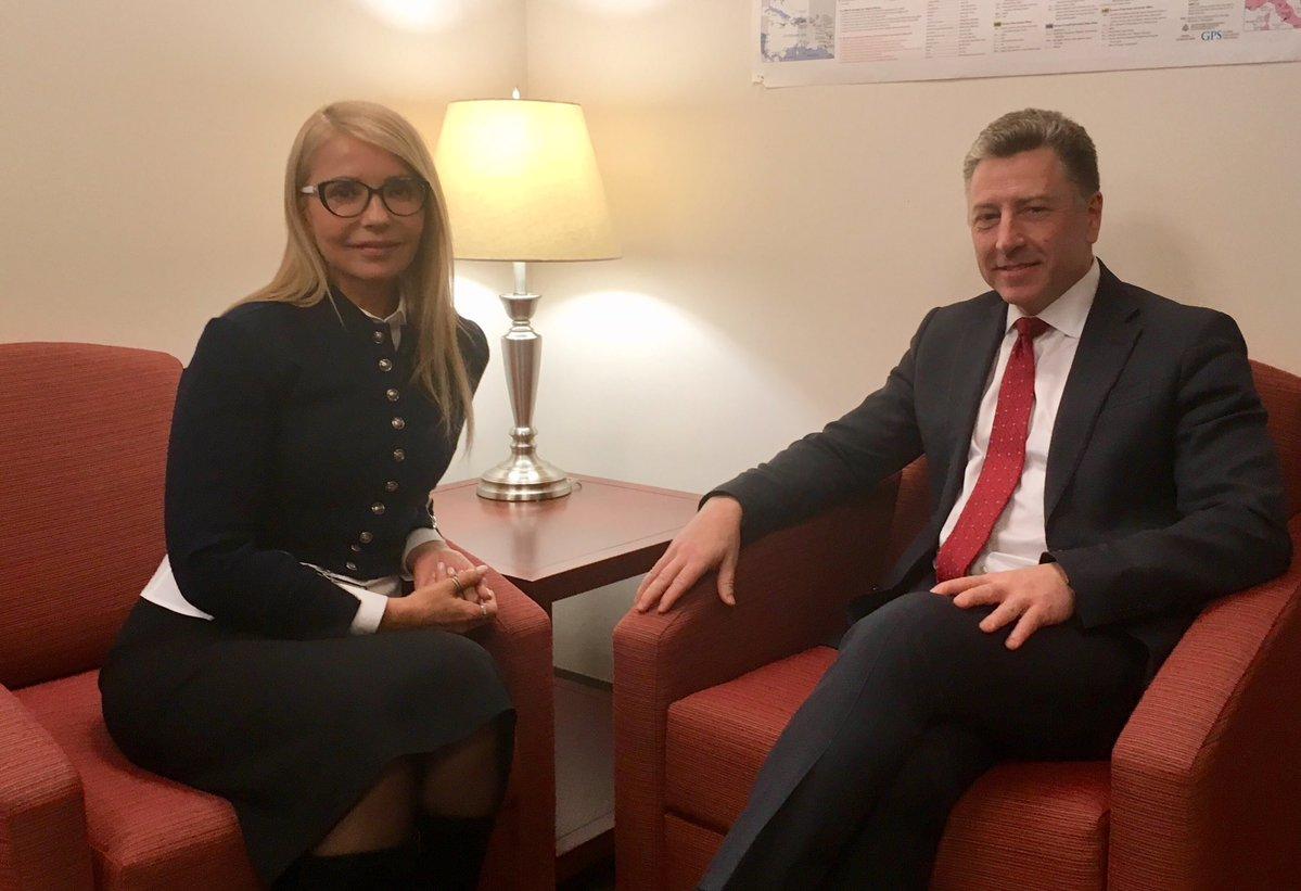 Клинтониты вбросили «арабский компромат» на Тимошенко