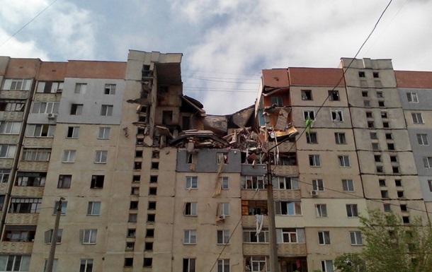 В девятиэтажке произошел взрыв