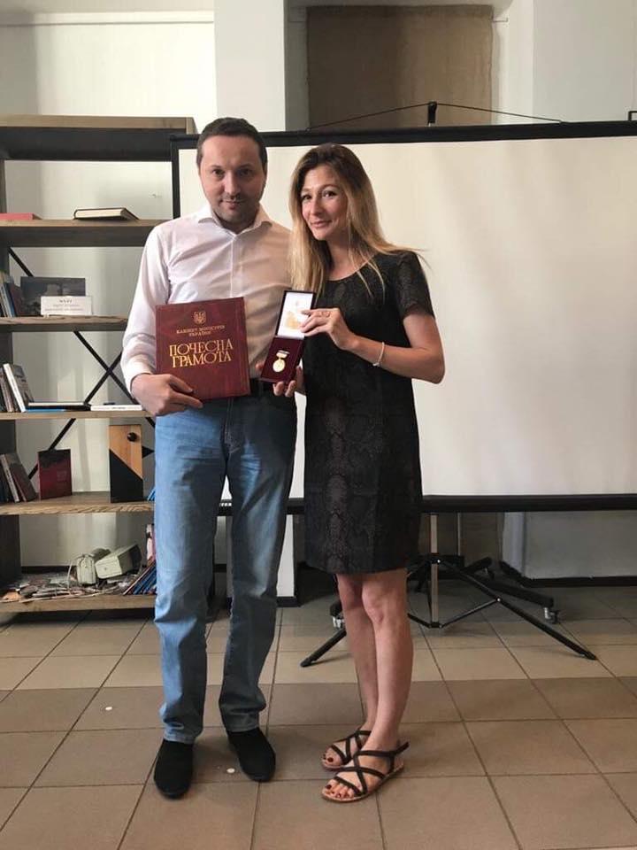 Джепарова выложила также фото с бывшим шефом