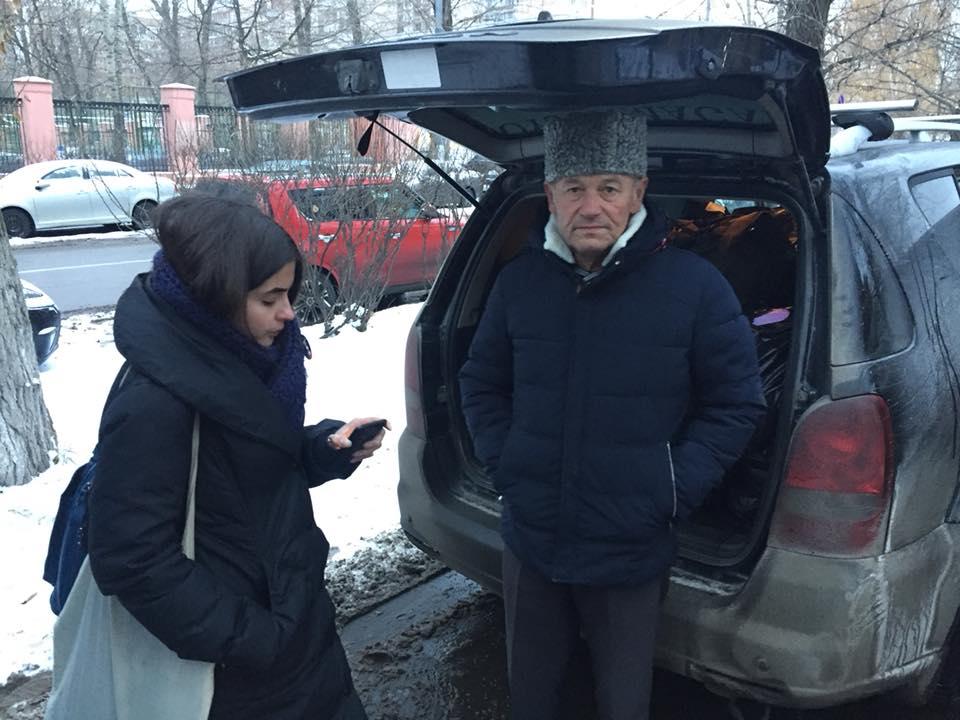 Джелялов называет активистов, которые поехали с ним в Москву, отчаянными людьми