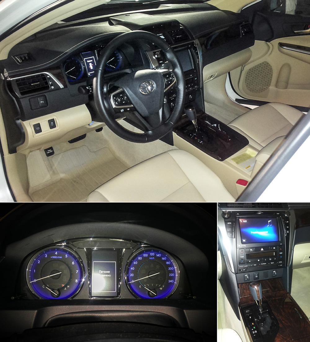 Обновленная Toyota Camry в Москве