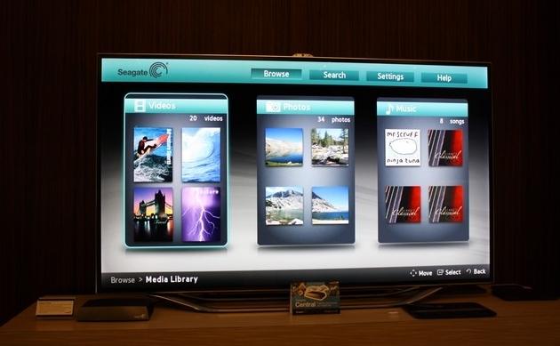 Seagate Cental - со Smart TV