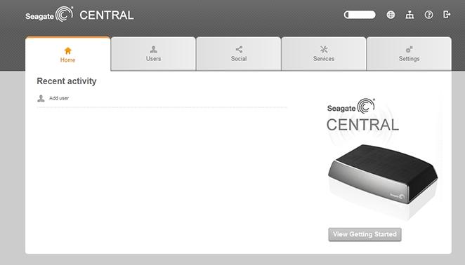 Seagate Cental - фирменное приложение