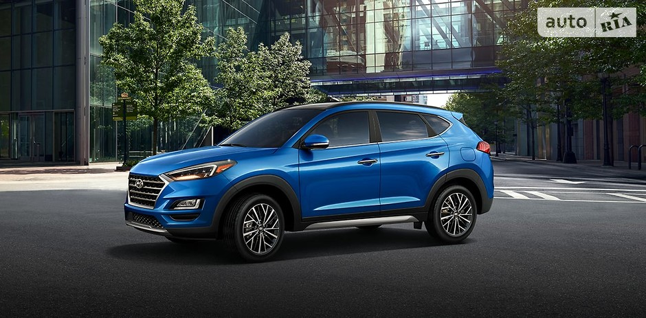 Hyundai Tucson (119 544 проданных авто)
