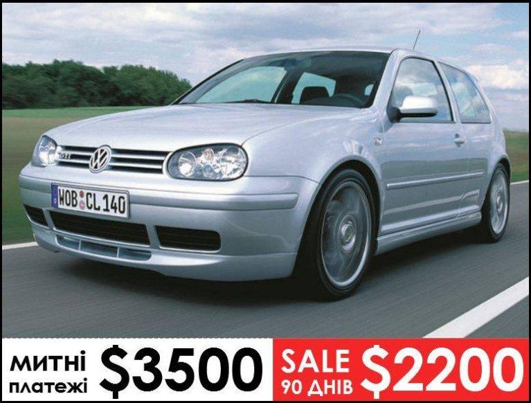 Volkswagen Golf 1999 год