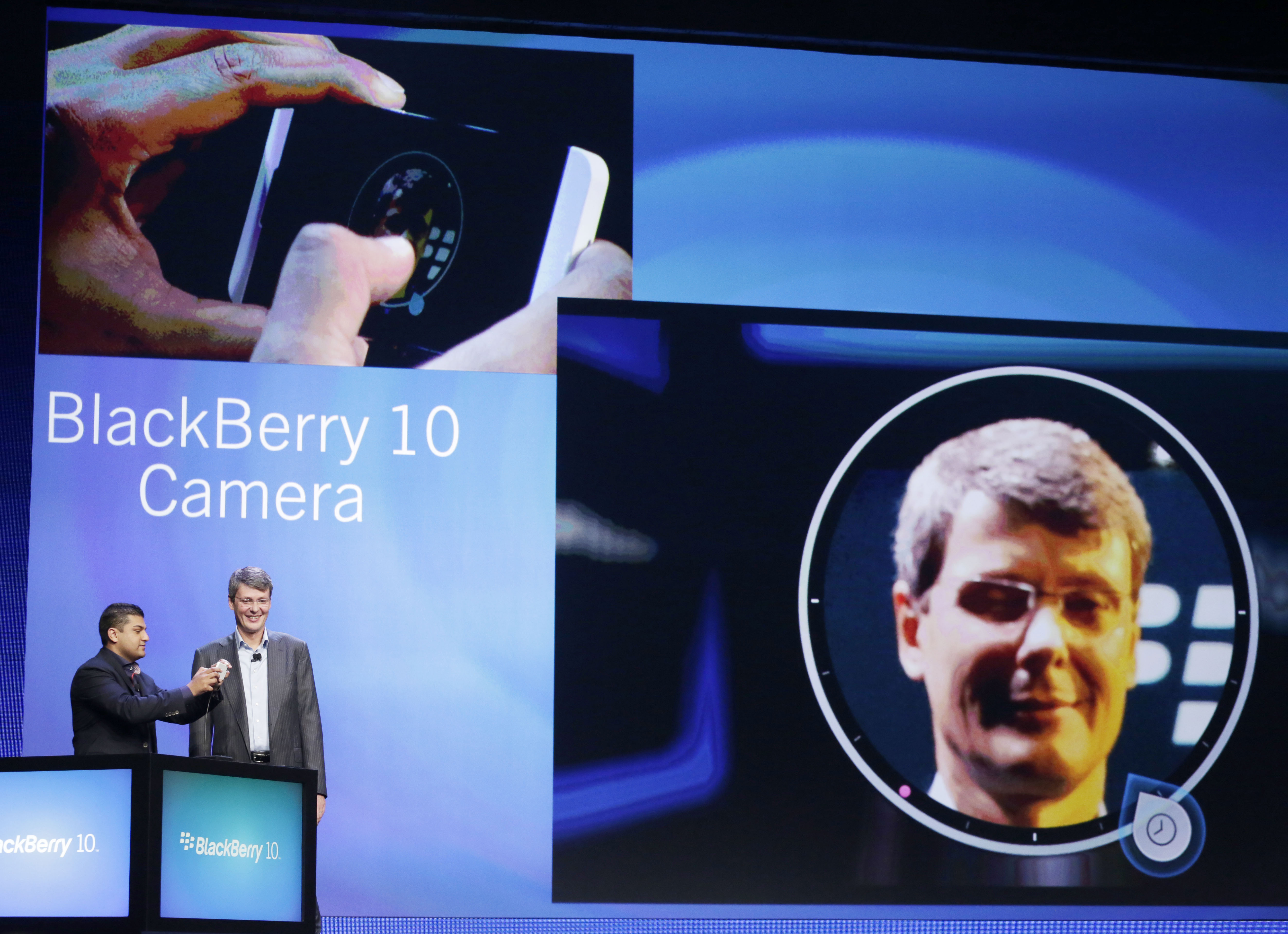 BlackBerry 10 - экран блокировки