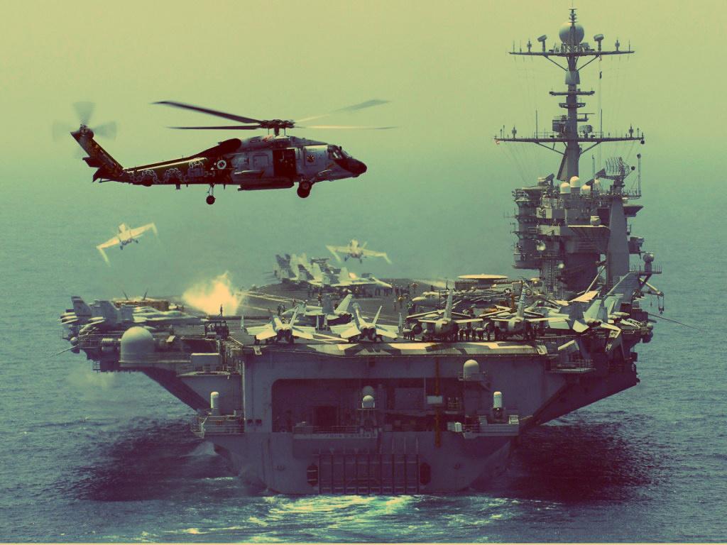 Скоро американские корабли заправят морской водой