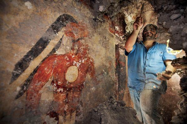 Раскопки в Гватемале
