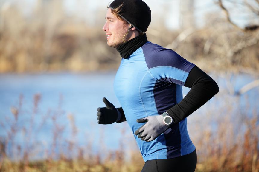 Во время бега старайся дышать как можно медленнее и глубже