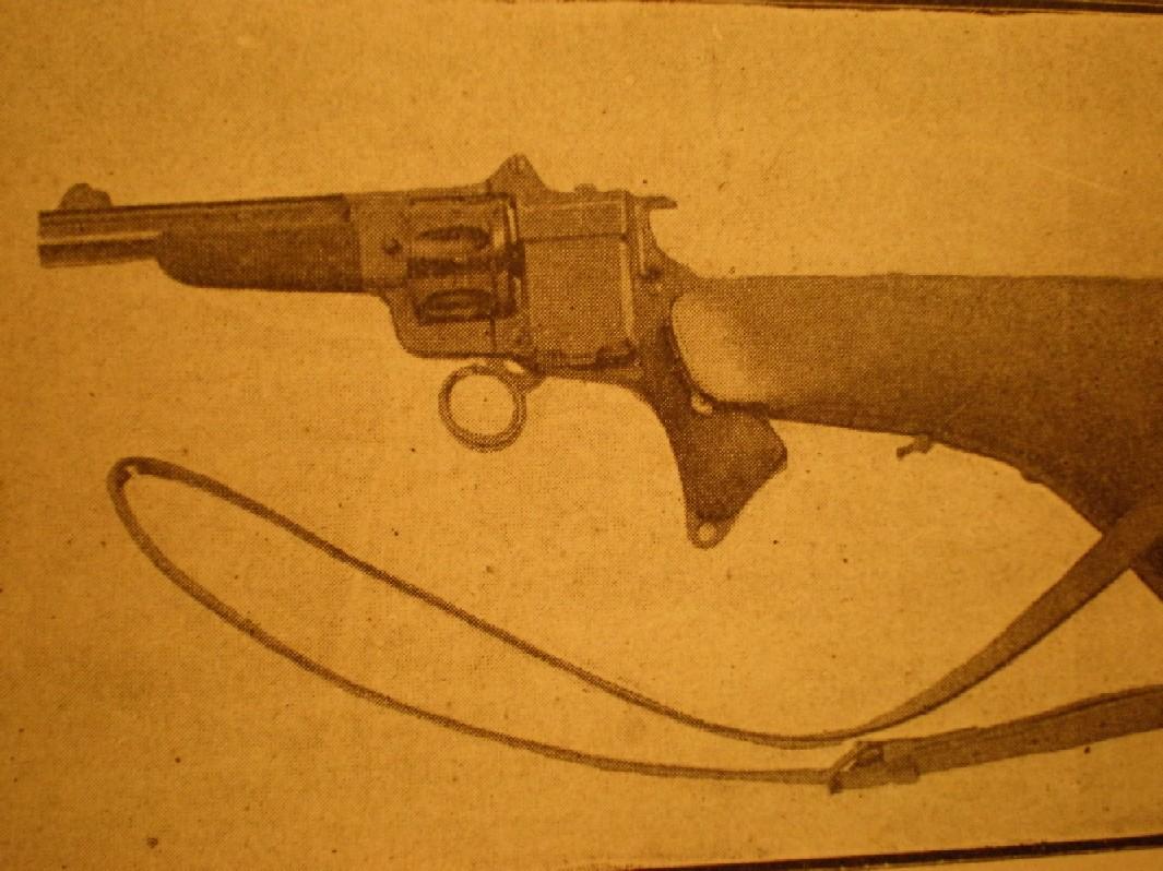 Револьверы часто модифицировали дополнительными магазинами