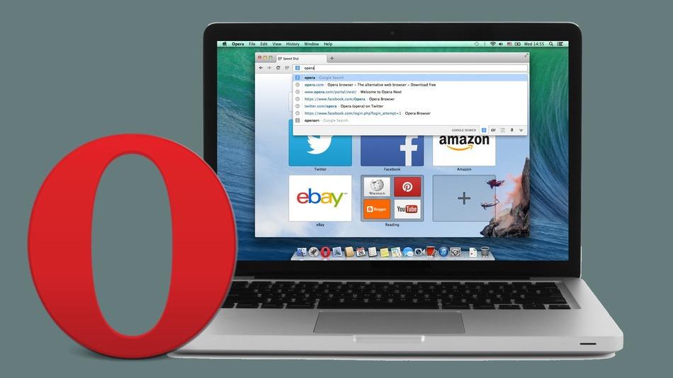 Opera - новые возможности 15-й версии