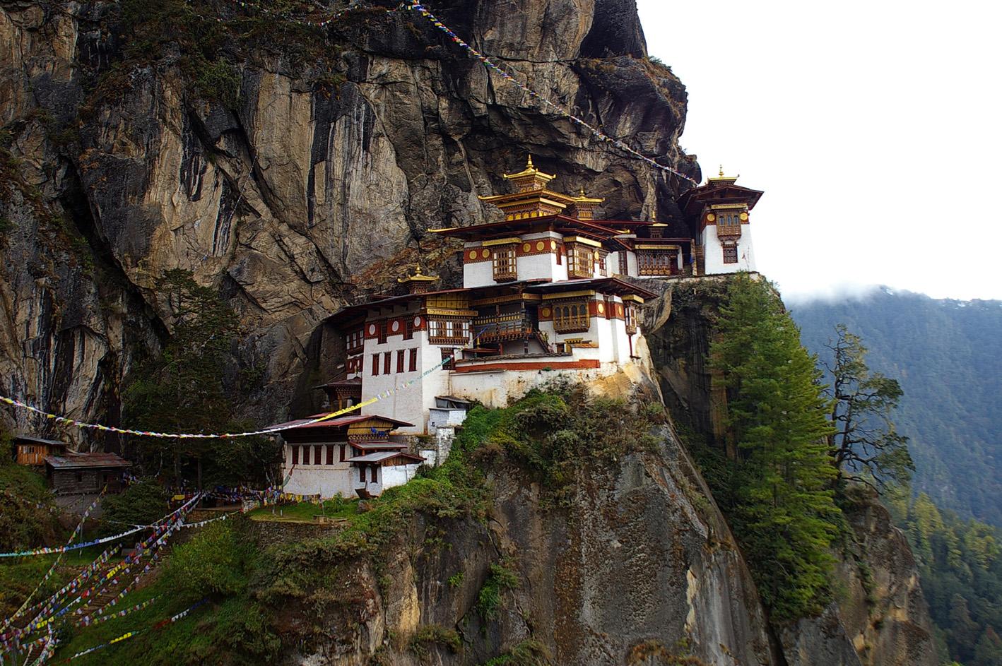 Пейзажи Бутана стоят твоих сил, страданий, и нескольких дней безостановочного похода