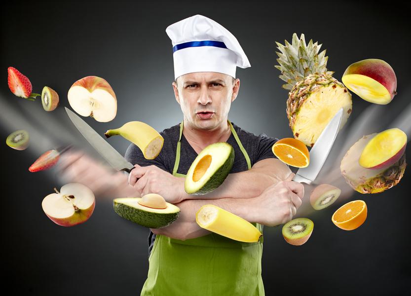 Ешь здоровую пищу вместо того, чтобы