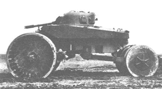 T10 Sherman M4A2 переобули в катки