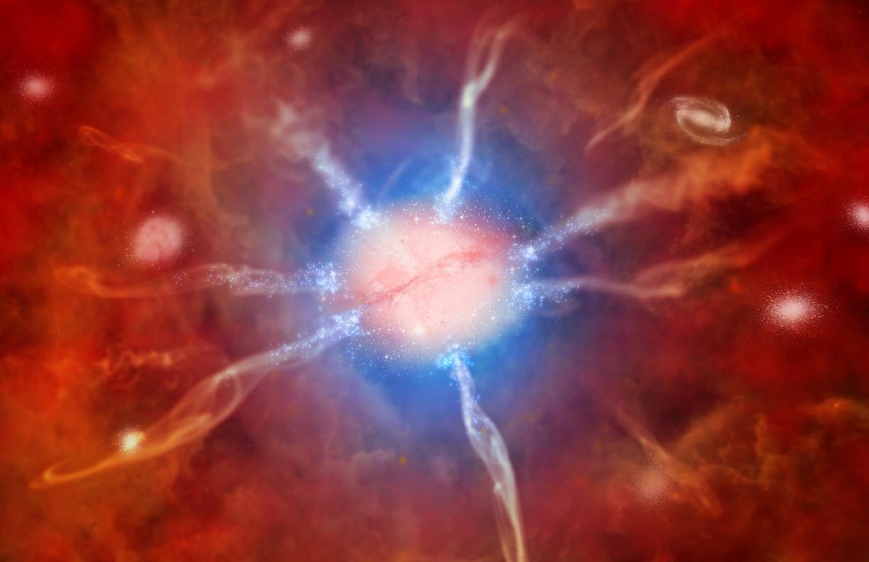 Самое массивное скопление галактик