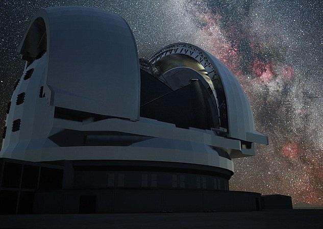 Телескоп построят высоко в горах Чили