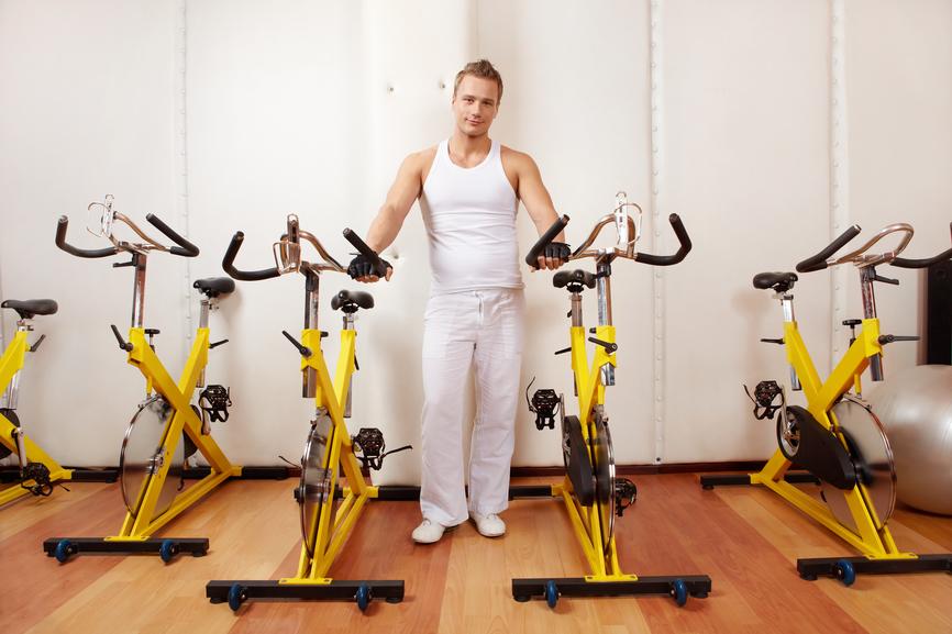 Перед тренировкой всегда разогревайся (например, на велотренажере)