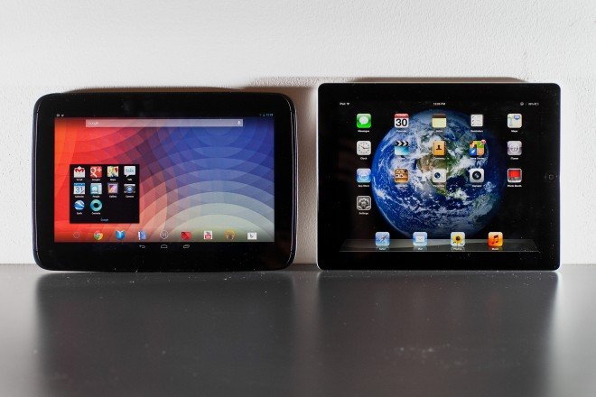 Битва титанов: Nexus 10 против IPad 4