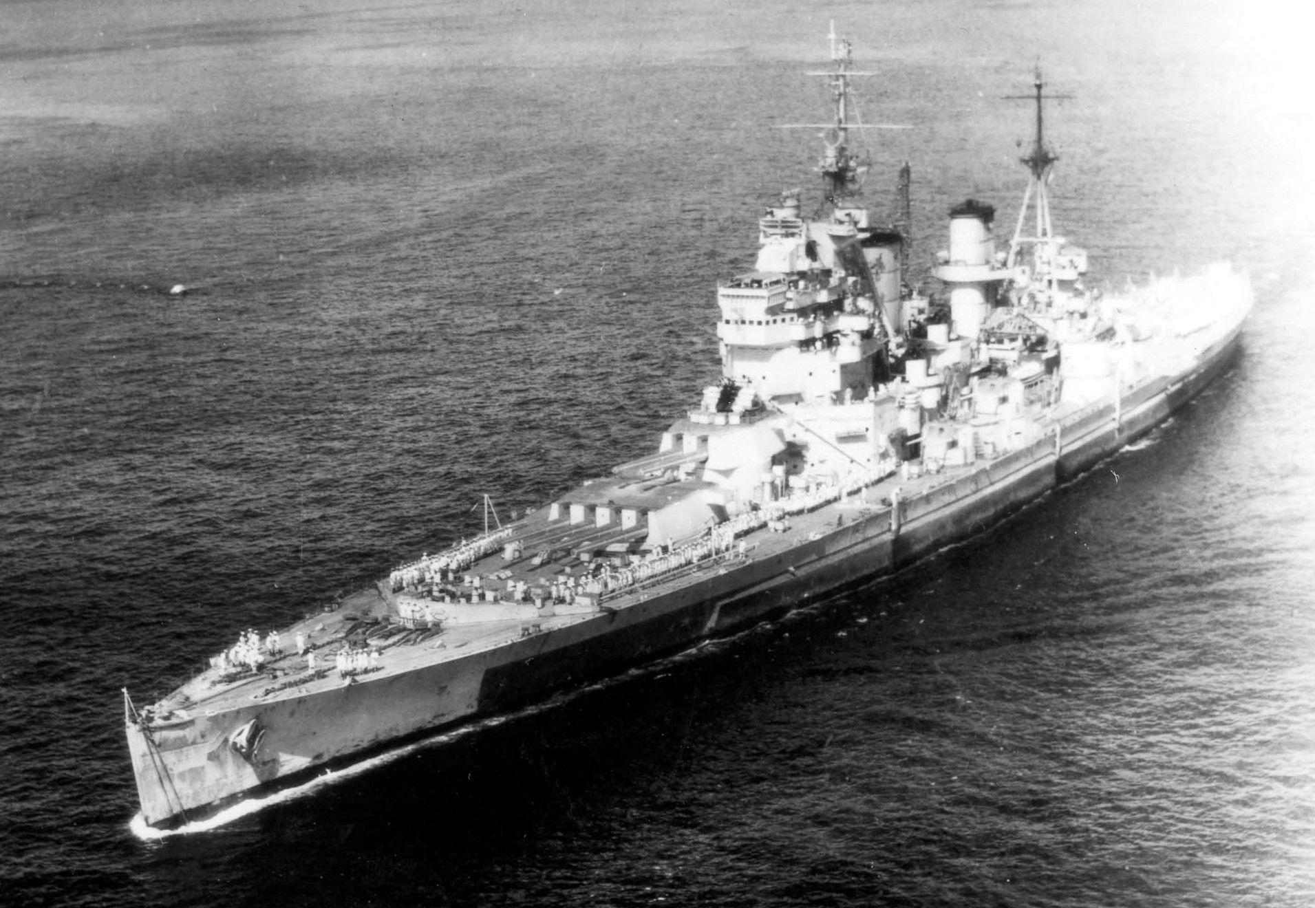 Бисмарк был назван на честь одного из канцлеров Германской империи