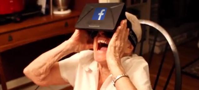 Facebook покупает Oculus RV