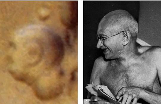 Махатма Ганди на Марсе