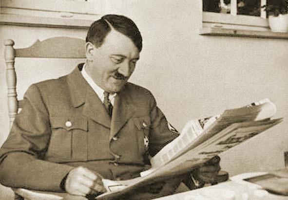 Гитлер любил «припудрить» носик