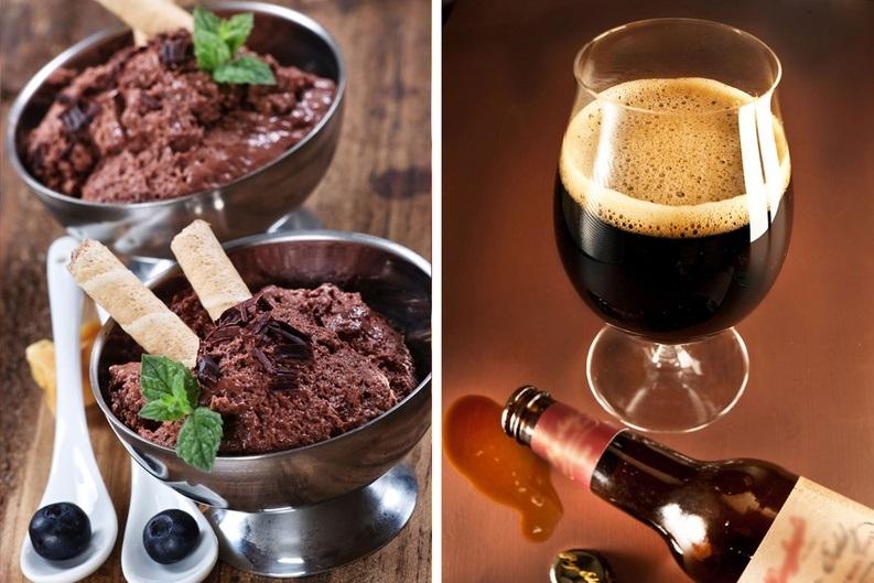 Стауты можно пить как с шоколадом, так и курицей или барбекю