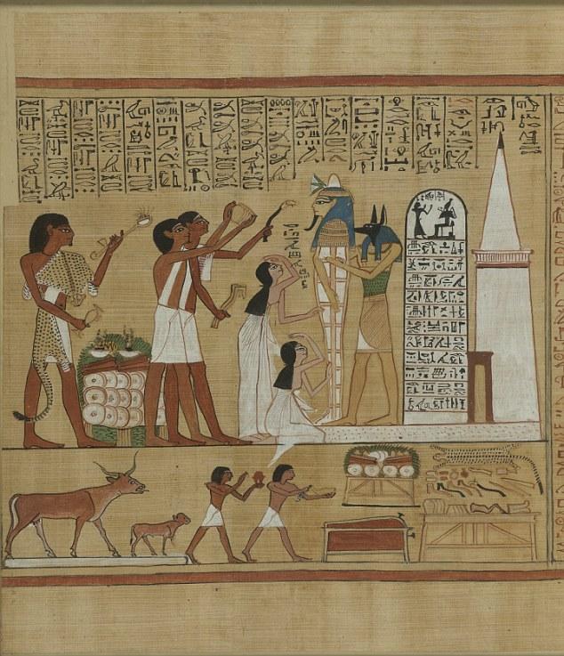 Живые мертвецы: один из ритуалов, описанных в Книге Мертвых