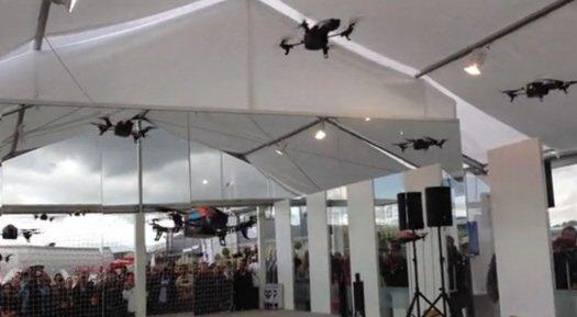 Балет дронов Sky Prius