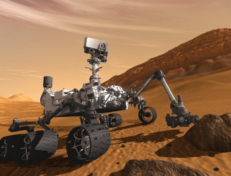 Curiosity убедился, что жизни на Марсе нет