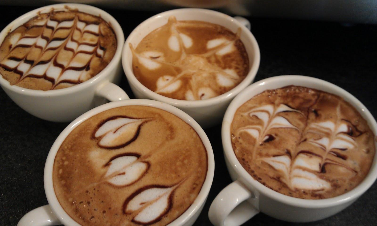 Кофе - новый холст для изобразительного искусства