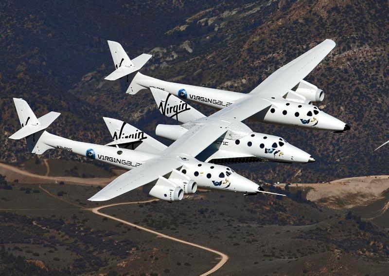 SpaceShipTwo совершил третий сверхзвуковой полет