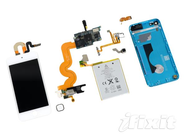 iPod Touch в разобранном состоянии