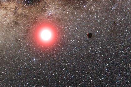 Экзопланета и ее звезда