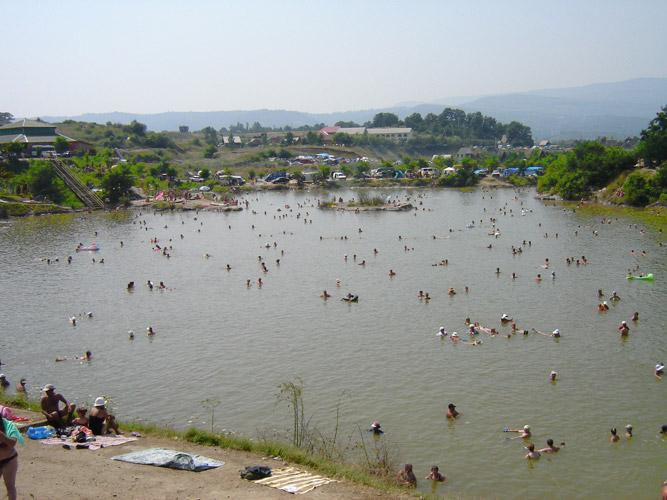 Солотвино славится своими лечебными водами