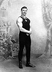 Сергей Елисеев — русский советский спортсмен-силач, первый русский чемпион мира. Был наставником знаменитого русского силача — Клементия Буля