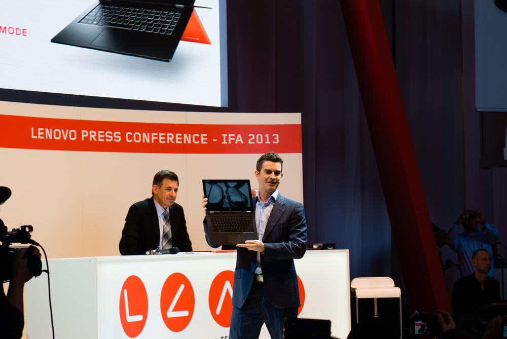 Компания Lenovo представляет новые ноутбуки