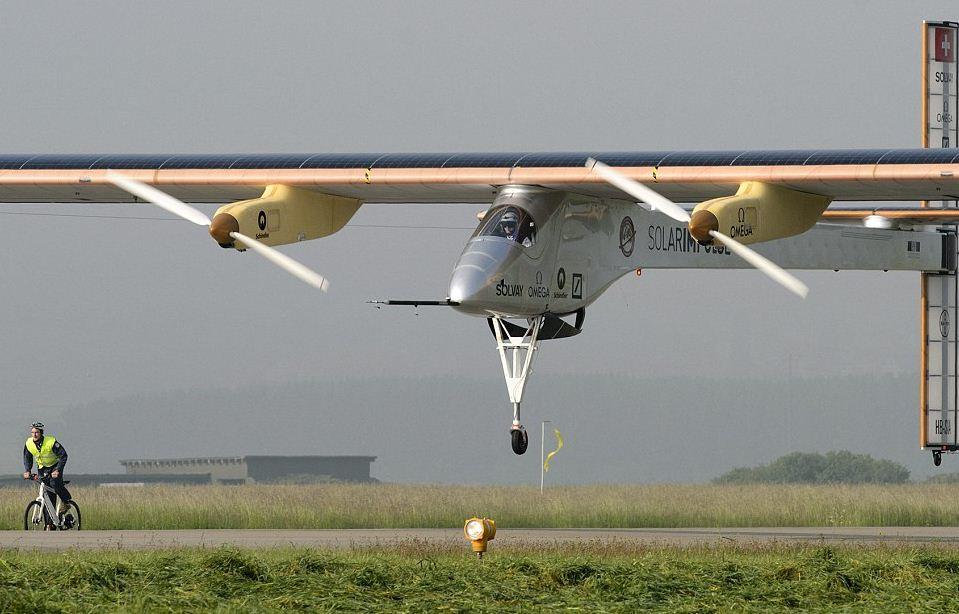 Solar Impulse: чем больше солнца, тем быстрее