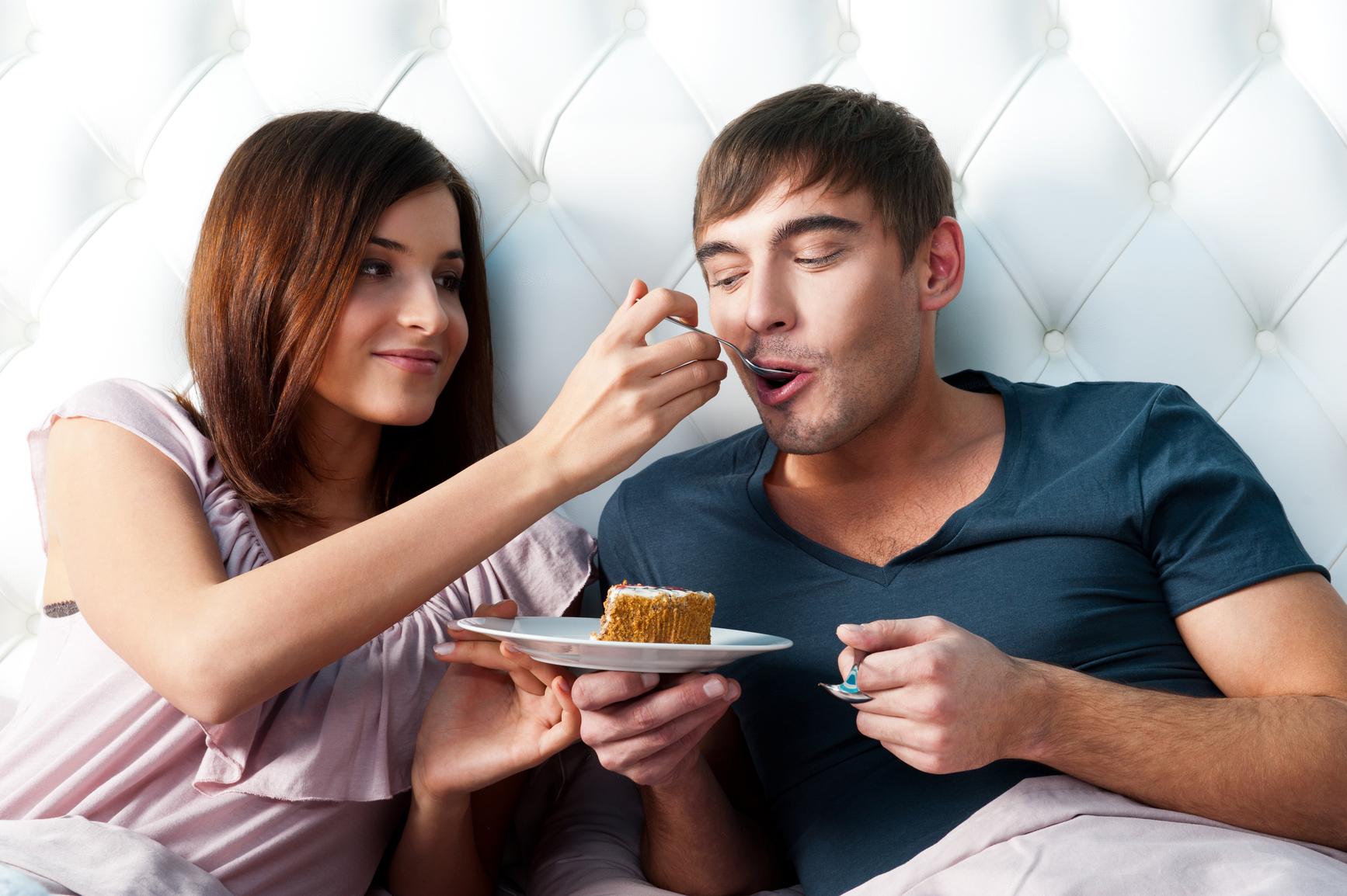 Меню для мужчины секс и еда