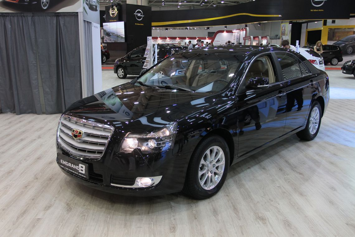 SIA 2013: Geely Emgrand 8