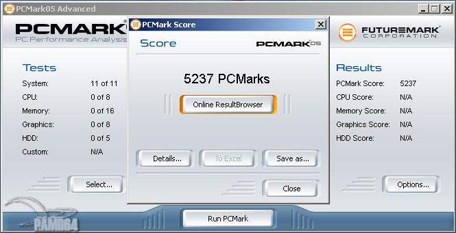 Тест компьютера на производительность при помощи PCmark