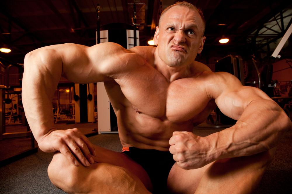 Без массы мышц не накачать