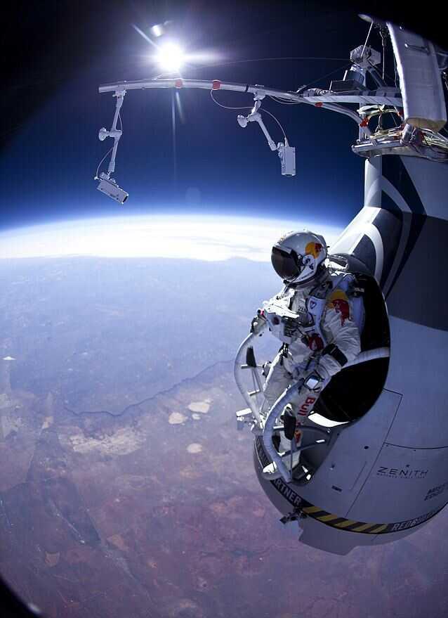 Полет из космоса длился 8 минут